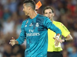 Schiri-Schubser: Ronaldo für fünf Spiele gesperrt