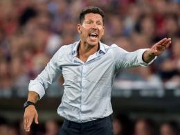 Nur Wenger ist voraus: Simeone verlängert bei Atletico