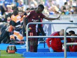 Schock für Barça! Dembelé fällt vier Monate aus