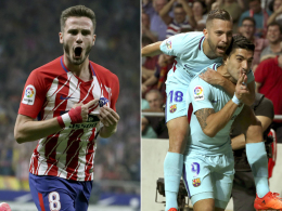 Atletico hält nicht stand: Suarez rettet Barça einen Punkt