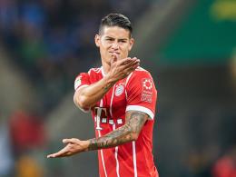 Kein Glück bei Bayern? Real stellt James Rückkehr in Aussicht