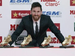 Quartett komplett: Messi macht's schon wieder