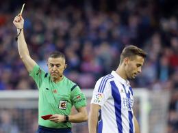 Ganz Spanien diskutiert heftig über einen Schiedsrichter