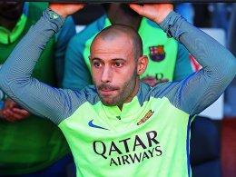 Mascherano vor Abschied beim FC Barcelona