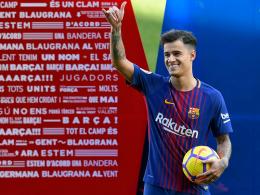 Ball hochhalten klappt: Coutinho kommt verletzt