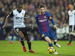 Copa del Rey: Valencia fordert Barcelona