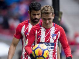 Diego Costa ein echter Faktor: Atletico bleibt dran!