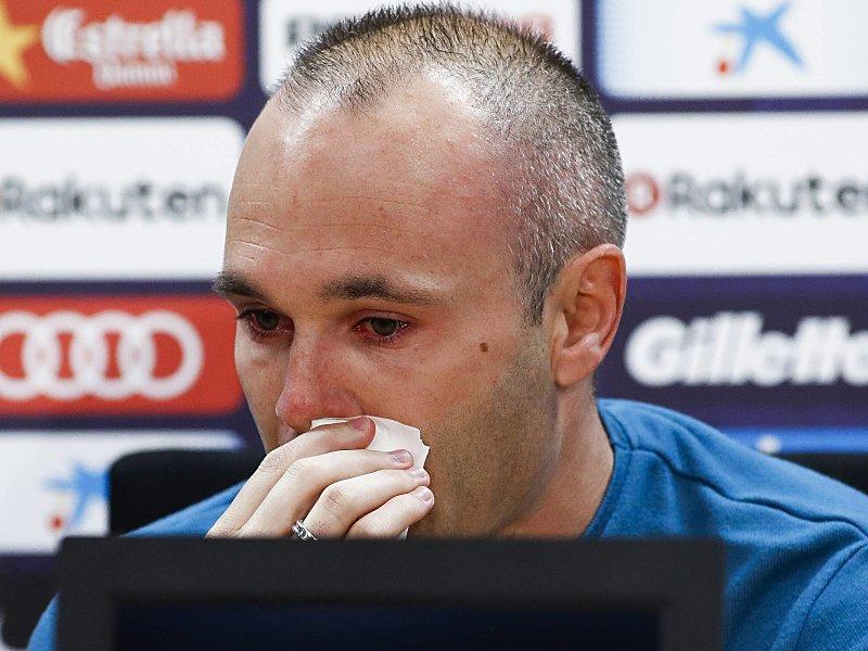Abschied unter Tränen: Darum verlässt Iniesta den FC Barcelona