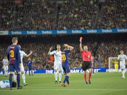Nach Tätlichkeit: Vier Spiele Sperre für Barças Sergi Roberto