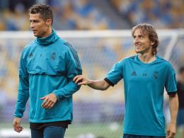 Modric glaubt nicht an Ronaldo-Wechsel zu Juventus