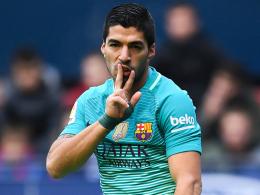 Messi und Suarez lassen Barcelona wieder jubeln