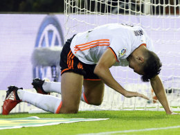 Valencia: Dreimal Führung verspielt, Elfmeter verschossen