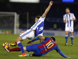 Copa del Rey: Barça bekämpft den Fluch im Anoeta