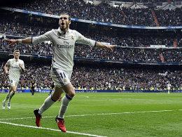 Reals Pflichtnummer - Bale trifft beim Comeback
