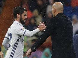 Zidane äußert Verständnis für Iscos Zweifel