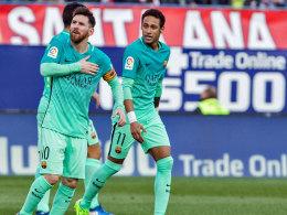 Barça atmet auf: Blasser Messi kontert Leuchtturm Godin!
