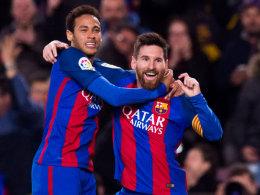 Messi lacht, Neymar lupft: Barças Tor-Show für PSG