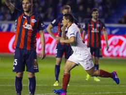 Sevilla verliert an Boden - Wechselbad für Sergio Rico