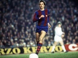 Stadionname und Statue: Barça ehrt Cruyff