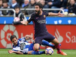 Barça drei Wochen ohne Arda Turan