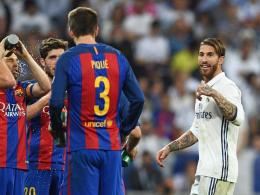Sergio Ramos und Piqué geraten aneinander