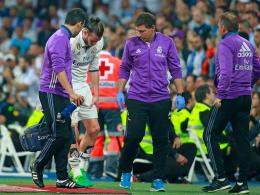 Bitter für Bale: Mehrere Wochen Pause