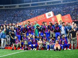 Messi führt Barcelona zum Pokalsieg