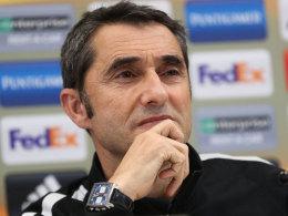 Offiziell: Valverde trainiert den FC Barcelona