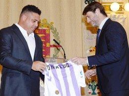 Ronaldo ist neuer Präsident von Real Valladolid