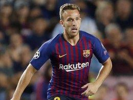 LIVE! Barça nur noch zu zehnt - Piqué ist zur Stelle