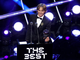 FIFA-Weltfußballer: Modric macht das Rennen!