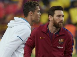 Ronaldo und Messi fehlen wohl bei Weltfußballer-Gala