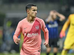 Coutinho fehlt Barcelona rund drei Wochen