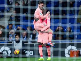 Nach Messis Liebeserklärung: Dembelé zwei Stunden zu spät