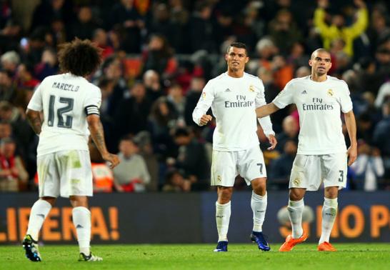 Marcelo, Cristiano Ronaldo und Pepe