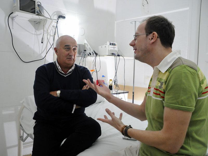 Norberto Odetto und Jörg Wolfrum