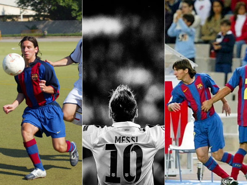 Messis Karriere in Bildern...