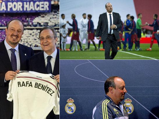 Rafa Benitez wollte in seiner Heimatstadt Gro�es schaffen - man lie� ihn aber nicht.