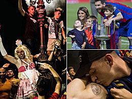 Eine Fee, die Messis und Dieb Piqué: Barça feiert Copa-Sieg