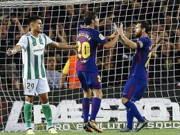 Ohne Spektakel: Barça knackt Betis-Bollwerk