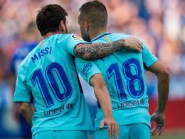 Messi kann's auch ohne Suarez, Neymar und Dembelé