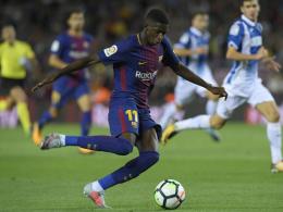 Messi verbucht Derby-Dreierpack, Dembelé ersten Assist