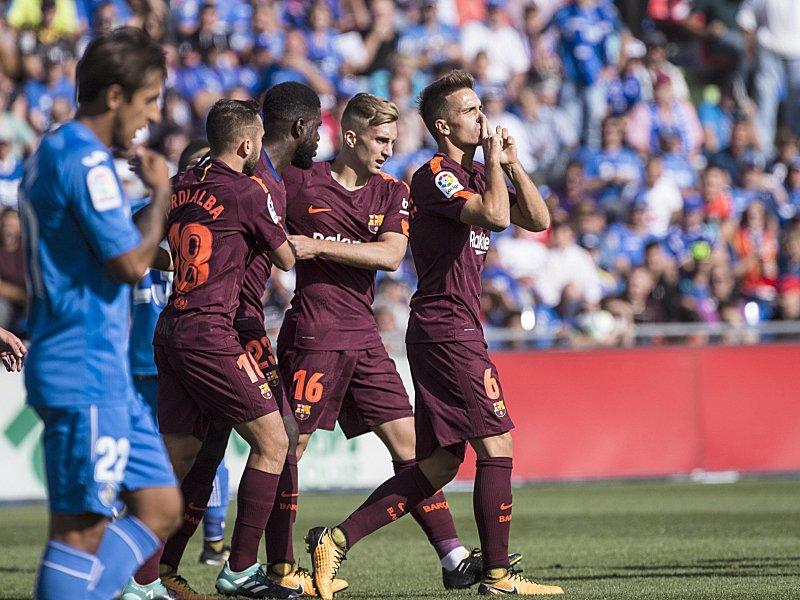 Barcelona gewinnt bei Getafe spät