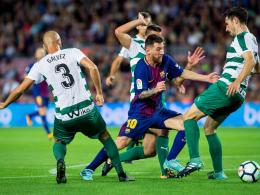 Schon 43! Messi fegt für Barça über Eibar hinweg