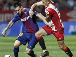 Gironas Eigentore helfen Barça - Schatten nervt Messi