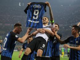 Dreierpack im Derby gegen Milan! Inter feiert Icardi