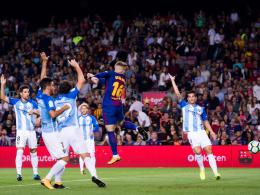 Barça siegt nach irregulärem Führungstor im Schongang