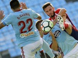 Dank Gameiro: Atletico siegt glücklich in Vigo