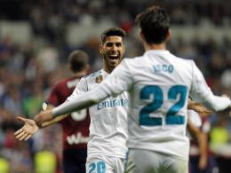 Asensio begeistert die Real-Fans - Ronaldo trotz 3:0 bedient