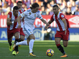 Sensation in Katalonien: Real verliert in Girona mit 1:2